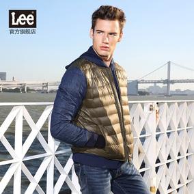 Lee男装 2016秋冬新款男士休闲上衣男式百搭羽绒服L16247U693RV