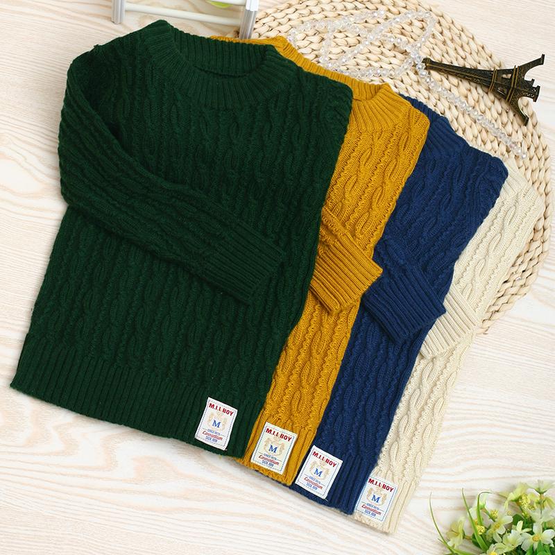 2014韩版新款童装女童上衣儿童套头宝宝针织衫 春秋潮男童毛衣