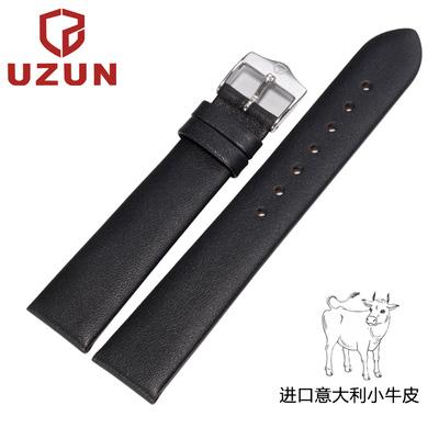 [特价年货] 优尊UL329手表表带牛皮真皮军旗名匠瑰丽男表女表带18 19 20mm