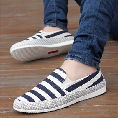春夏季透气帆布鞋男士懒人鞋潮流休闲鞋一脚蹬男鞋子低帮韩版布鞋