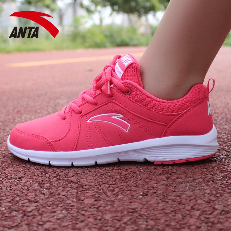 安踏跑步鞋女鞋正品2015秋季跑鞋缓震耐磨运动鞋慢跑鞋