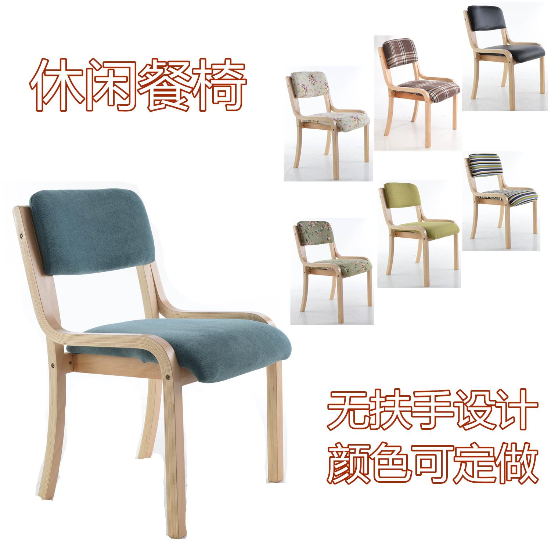 康泽厂家 曲木椅靠背无扶手餐椅办公会议电脑椅咖啡椅餐厅专用