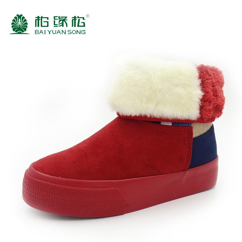 秋季女鞋冬季平底短靴女靴子雪地靴短筒靴棉鞋单靴冬靴裸靴毛绒靴