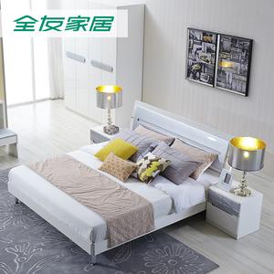 现代卧室组合家具板式