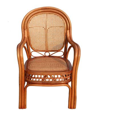 江南艺苑 天然植物藤编休闲椅 舒适藤椅扶手椅 三件套五件套组合