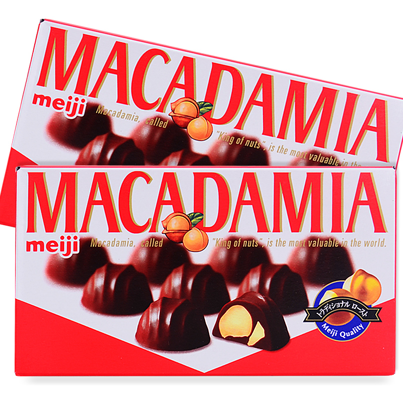 日本进口明治Meiji榛子果仁夹心巧克力夏威夷果澳洲坚果节日女友