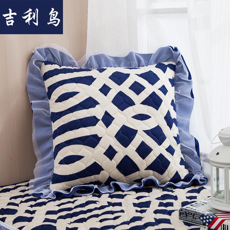 吉利鸟沙发抱枕靠垫套/含心田园欧式韩式风靠垫抱枕加厚保暖秋冬