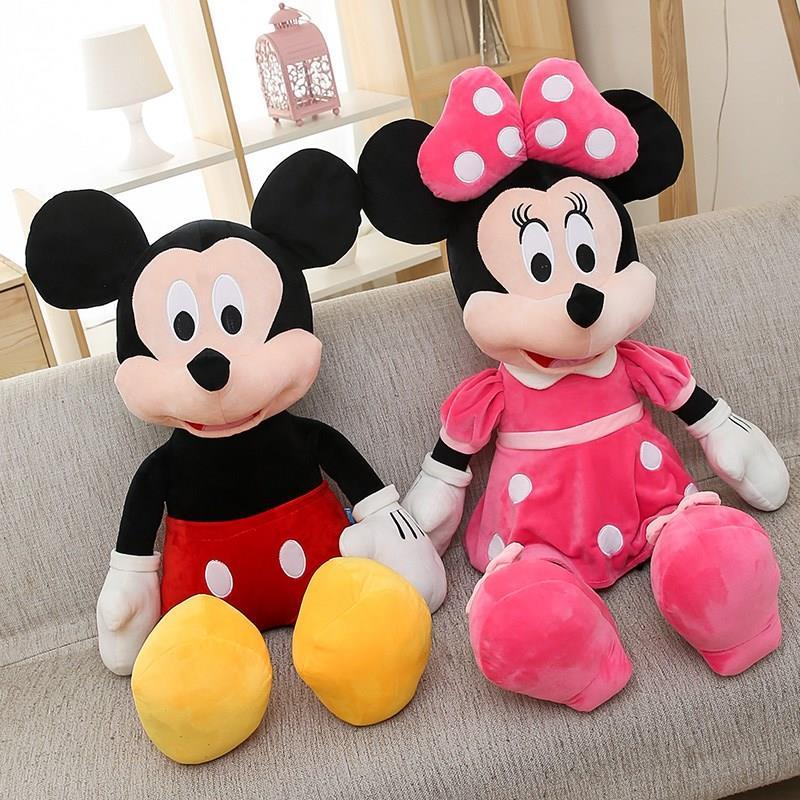唐老鸭玩具_毛绒玩具米奇米妮公仔情侣抱枕礼物儿童玩具生日布娃娃老鼠唐老鸭