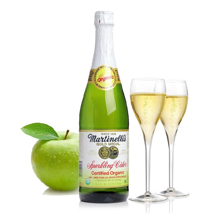 感恩价 健康餐饮 有机起泡无醇苹果酒 Cider 送礼首选产品 包邮