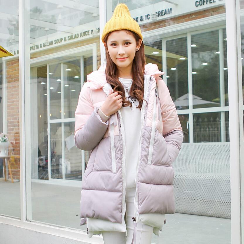 新款 秋冬爆款超好质量韩版休闲加厚保暖蓬蓬羽绒棉棉衣棉服外套