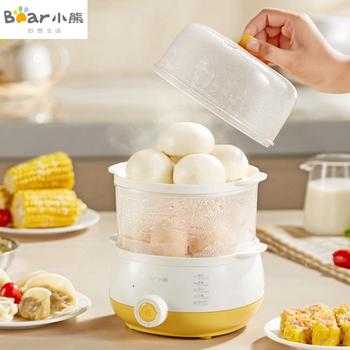 小熊煮蛋器双层自动断电防干烧家