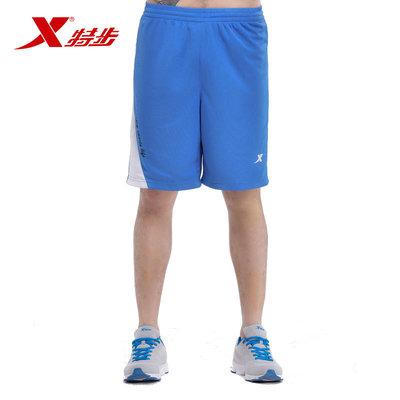 特步篮球服春夏新品篮球套装裤子时尚百搭舒适透气短裤运动裤男裤