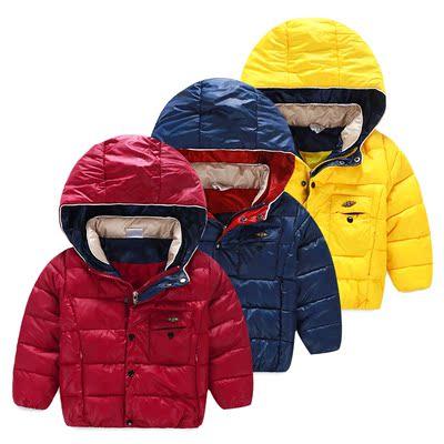 香港代购ZARA宝宝冬装新款加厚棉服 童装男童装儿童夹棉加厚外套