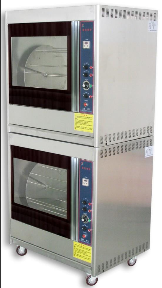 厨房电器电烤箱商用热风循环系统机械烤炉 两侧可视玻璃门烤炉