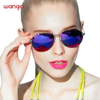 望客 太阳镜女偏光镜 2016时尚个性太阳镜色缺潮流男墨镜W1118