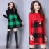 春季中长款针织衫打底衫女装长袖半高圆领套头毛衣女修身显瘦上衣