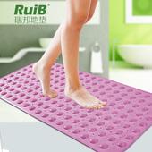 无味浴室防滑垫洗澡淋浴大号带吸盘按摩脚垫厕所卫生间隔水地垫子