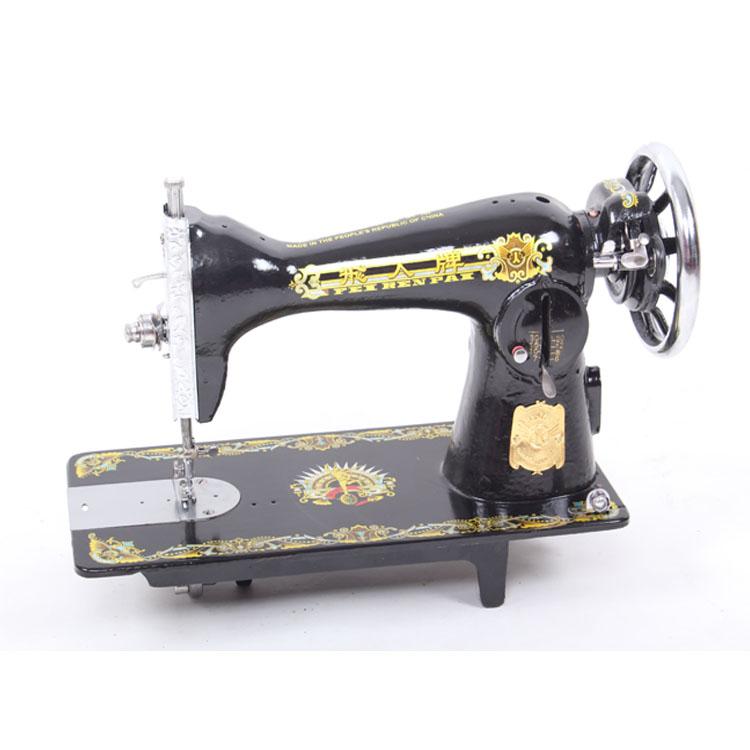 老式家用缝纫机头 脚踏裁缝机衣车专用胜蝴蝶可电动