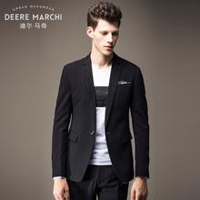迪尔马奇2017秋装新款男士商务休闲西装 修身款小西服外套M26011Y