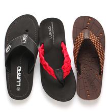 透气沙滩鞋 潮流 耐磨防滑凉鞋 人字拖 皮革凉拖鞋 夏季时尚 英伦男士