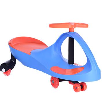 天顺儿童扭扭车 溜溜车摇摆车 宝宝滑行车玩具车静音轮带音乐