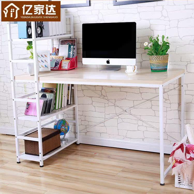 家用特价电脑桌/简约台式转角桌包邮书桌组合/简易家具书架桌子