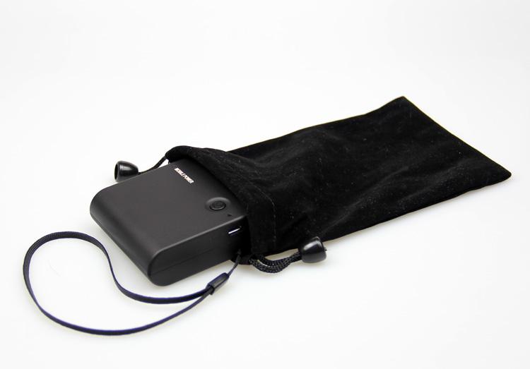 高档尼龙手机布袋 收纳袋 充电宝小袋子 移动电源袋子