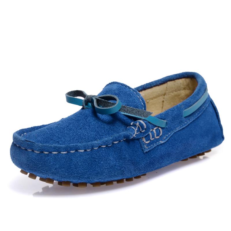 童鞋男童2014春季新款儿童皮鞋 真皮豆豆鞋韩版休闲童鞋宝宝单鞋