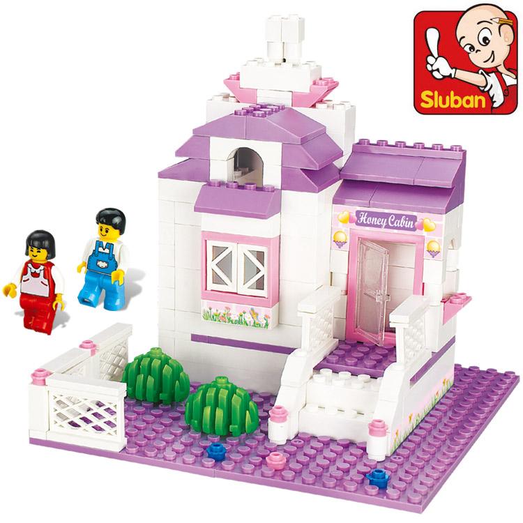 小鲁班拼装积木女孩子益智力开发玩具6-7-8-9-10岁以上生日礼物