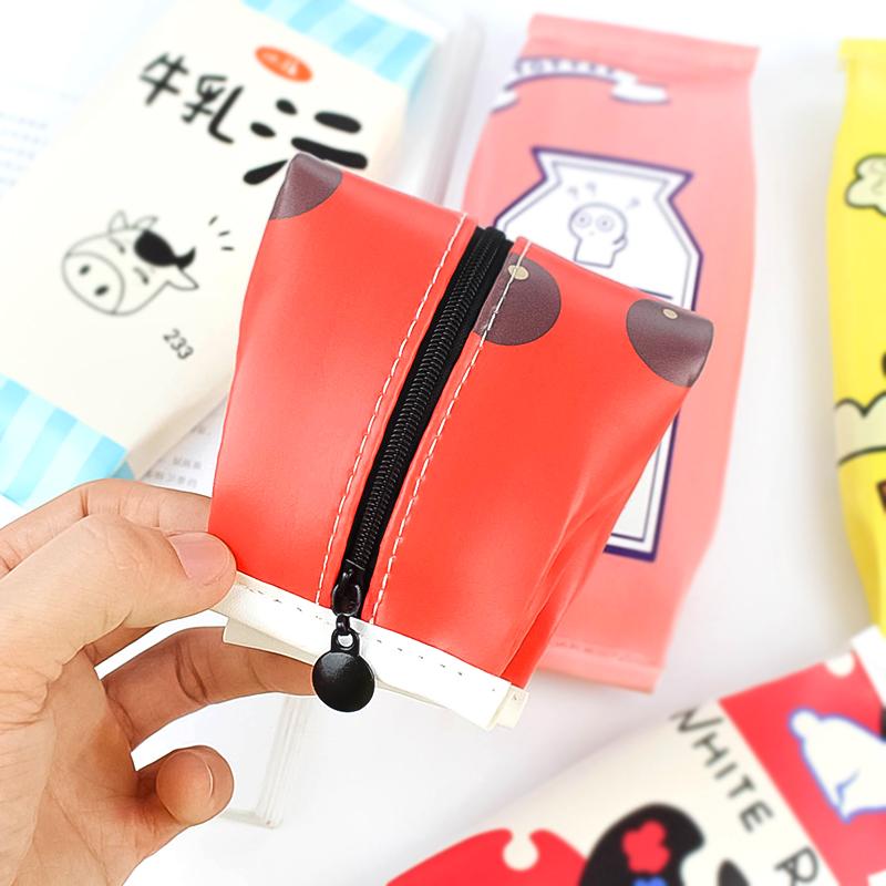 韩版创意照片笔袋韩国简约女初中初中小a照片可零食学妹学生高清图片