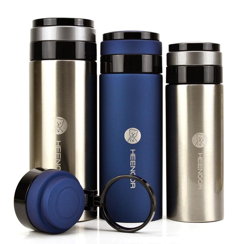 希诺正品真空不锈钢保温杯 男女士泡茶办公室送礼品水杯子XN-8675