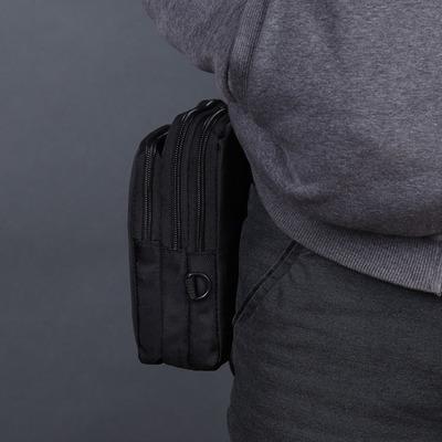 出游好帮手 收纳 多分割 小挎包 可系在皮带上 DE-Y084