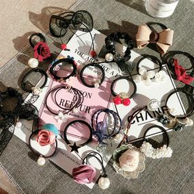 韩国饰品发饰发箍扎头发橡皮筋发圈发绳头绳简约头饰头花发带发夹