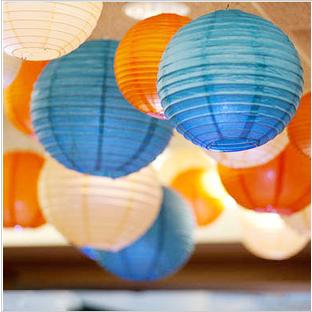 结婚婚庆婚礼灯笼/纸灯笼/吊灯笼/红灯笼纸灯罩/春节元宵灯笼30cm