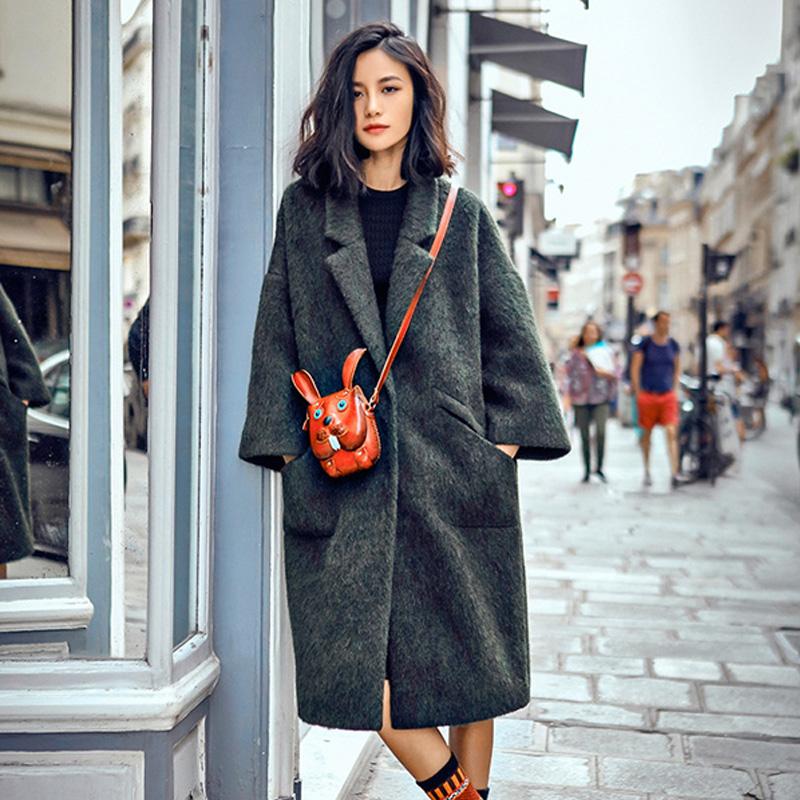 极致潮流版型显瘦新款毛呢女大衣【图片、价格】
