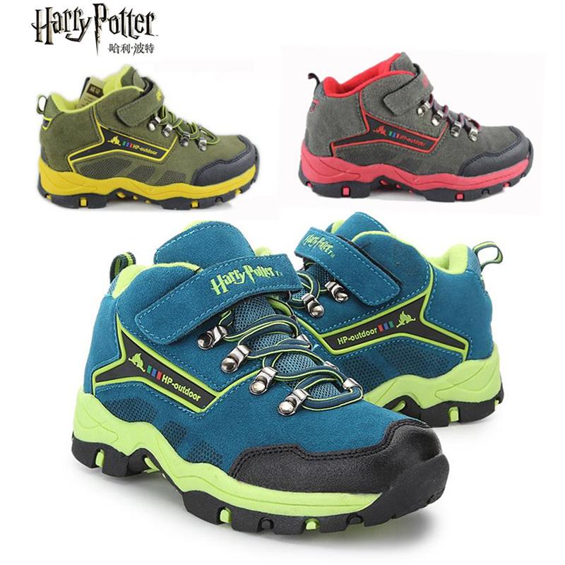 哈利波特童鞋正品2013冬款男中童二棉保暖休闲运动户外鞋31809