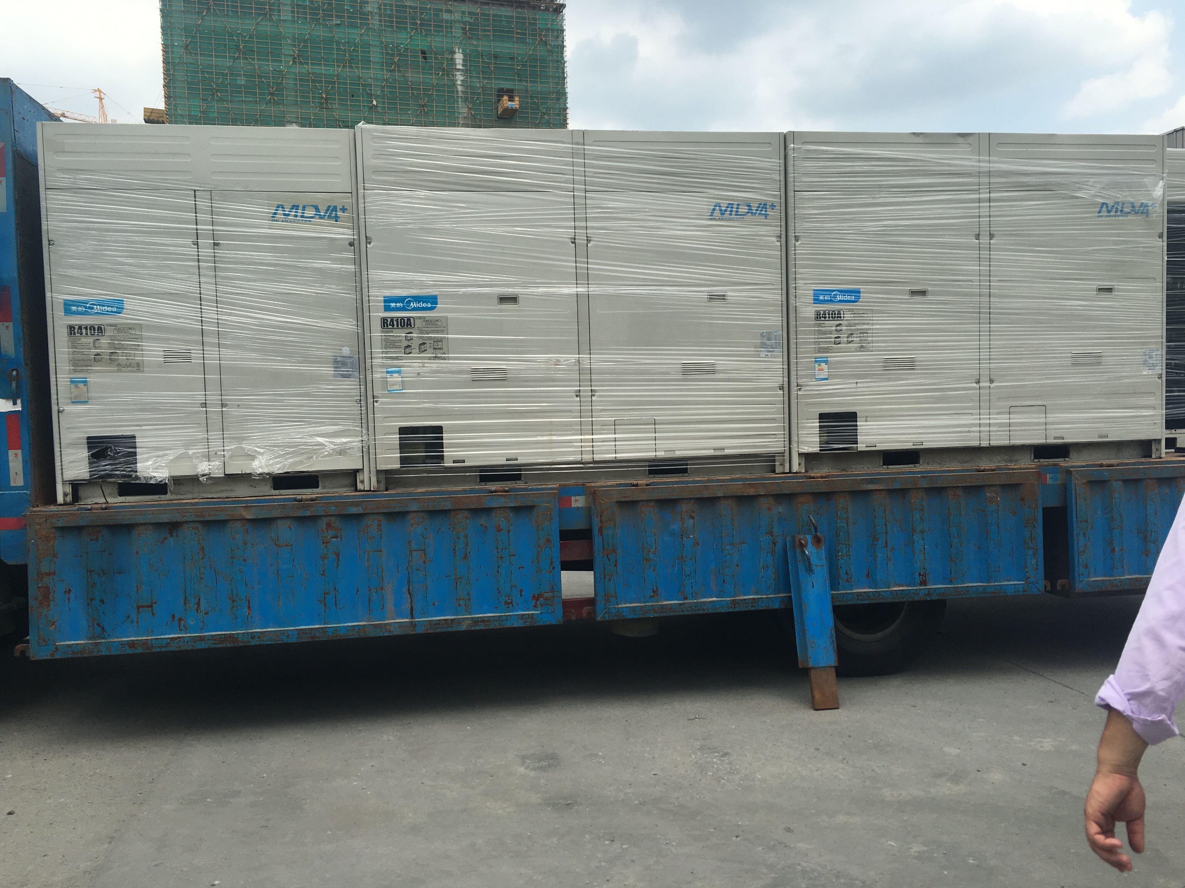 大型中央空调柜机货到付款免费安装维修 VRV 商用吸顶式 二手美