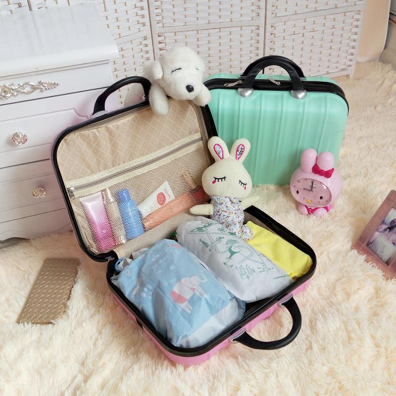韩版可订制公主箱包旅行包行李箱箱子手提箱可爱化妆箱