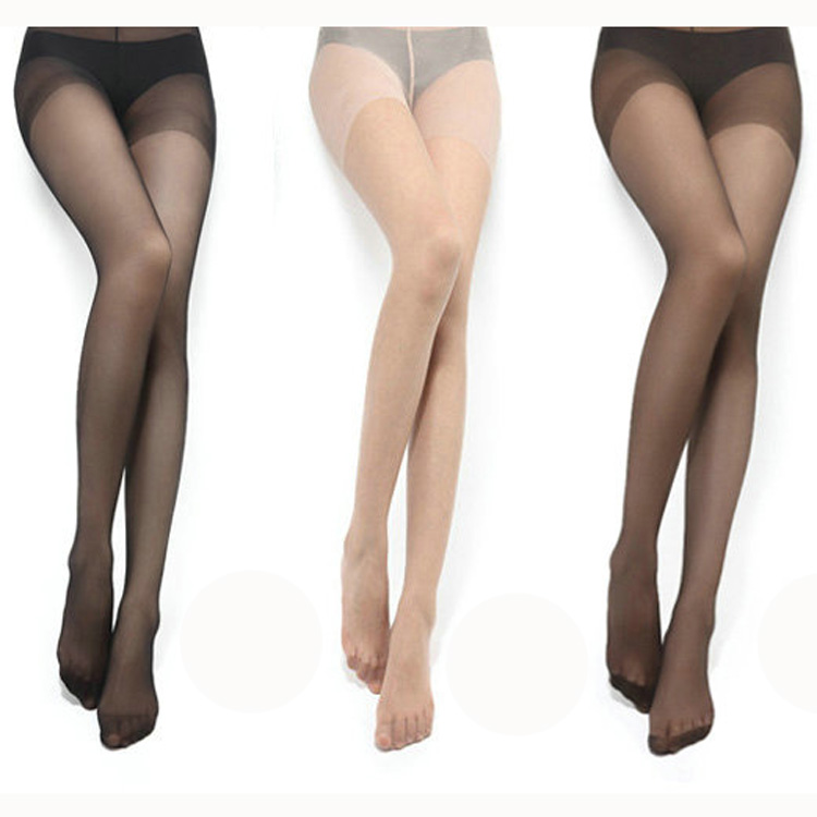 米西尤高档精装丝袜批发 包芯丝透明丝袜连裤袜 防脱丝袜子3317