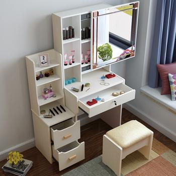 梳妆台卧室小户型化妆柜现代简约