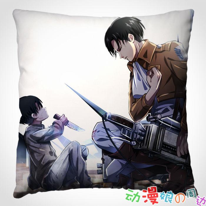 【动漫娘】进击的巨人/定做靠垫抱枕头周边/利威尔里维兵长送同学