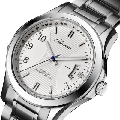 [最后一天] 正品格雷曼男士手表自动机械商务休闲夜光精钢表带防水瑞士男表