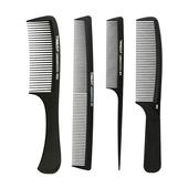 理发平头梳子剪发梳卷发专用梳 专业美发梳子尖尾梳挑梳防静电男士