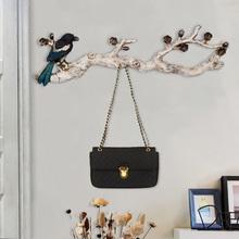 美式装饰挂钩创意壁挂钥匙架玄关墙上艺术简约墙饰门口墙壁衣帽架