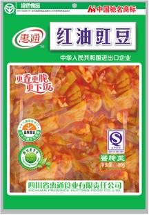 惠通红油豇豆下饭菜180克,香辣脆可口~新日期