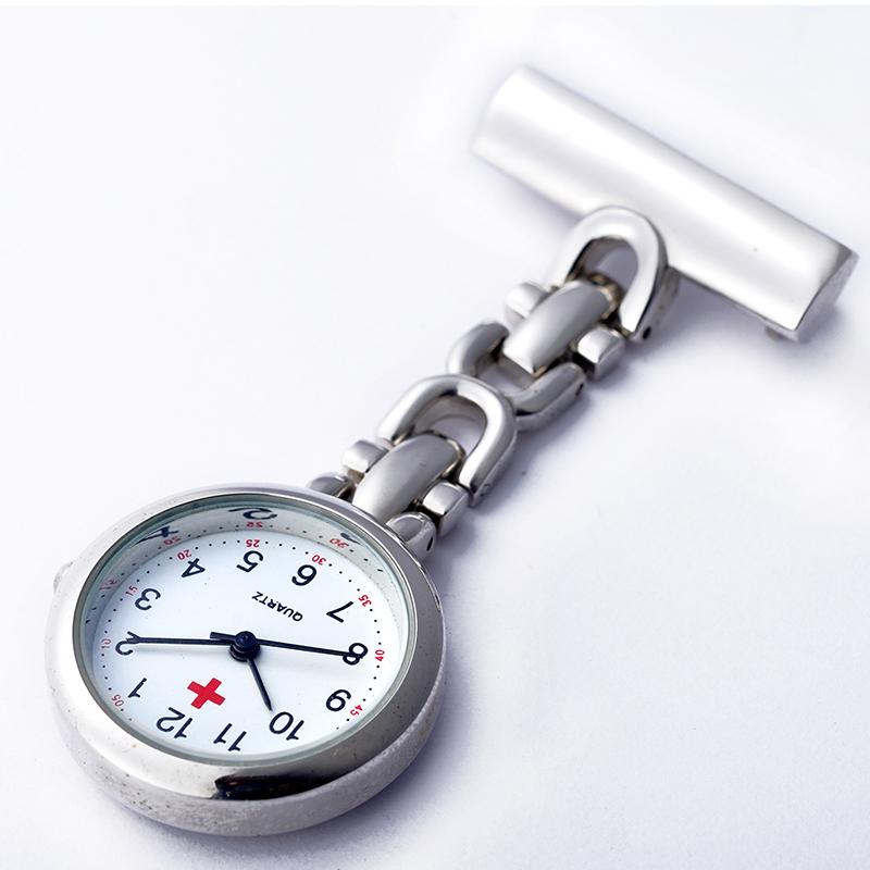5折 护士胸表可爱挂表男女士批发医用怀表 石英表学生包邮专用表