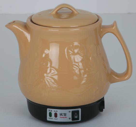 包邮 陶瓷发热体 4L陶瓷保健壶 花壶 电热中药煲 养生壶 煎药壶
