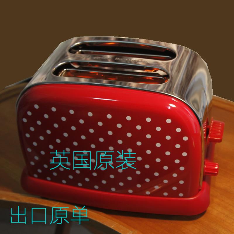 德国Bellini&balee 多士炉 不锈钢土吐司机 烤面包机 早餐机2片