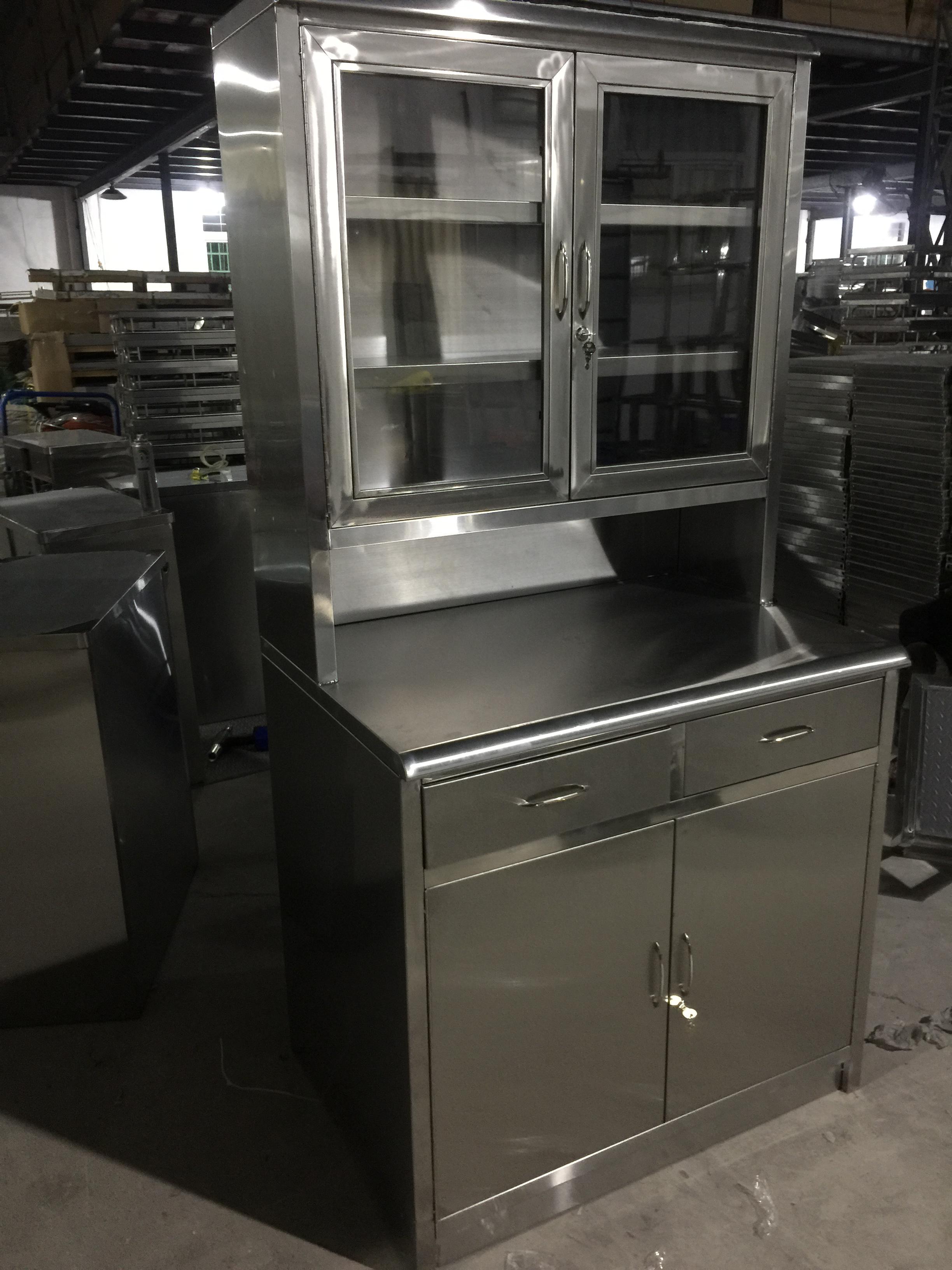 加厚西要柜调剂医用不锈钢器械柜文件柜操作台治疗柜中要品医疗柜