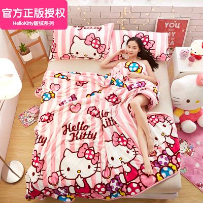 法兰绒毛毯冬季午睡盖毯加厚保暖珊瑚绒毯子儿童单人双人床单被子